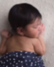 Baby Steps Sleeping baby