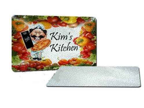 "Textured Sublimation Glass Cutting Board - 11.25"" x 15.5"""