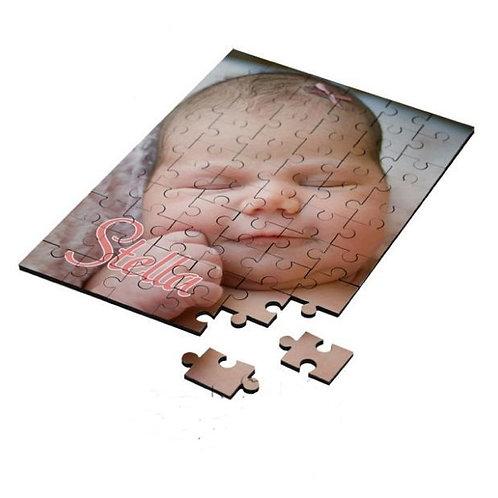 "30-Piece Sublimation Jigsaw Puzzle - 6.81"" x 9.81"""