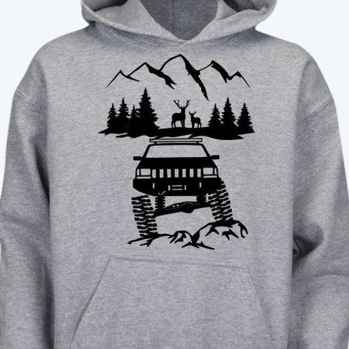 Jeep Deer Mountain Hoodie