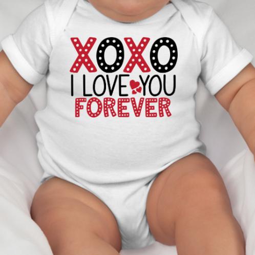 XoXo Love Forever Onsie