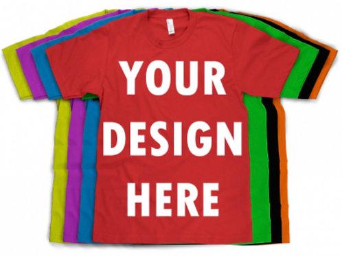 (50) Custom T-Shirts