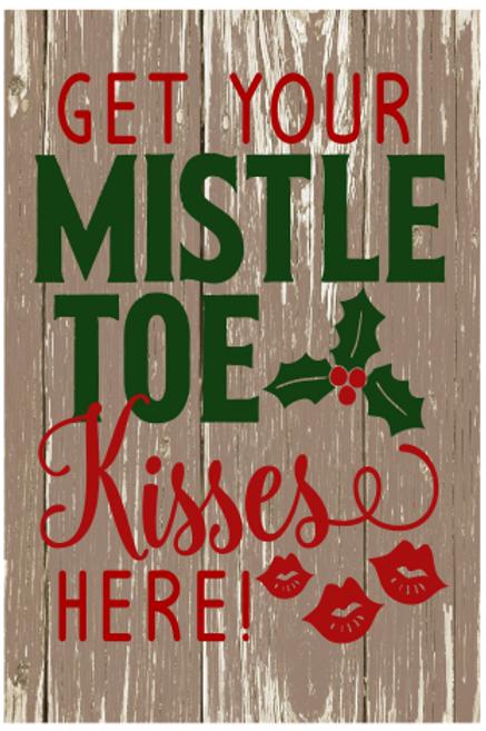Mistle Toe Sign