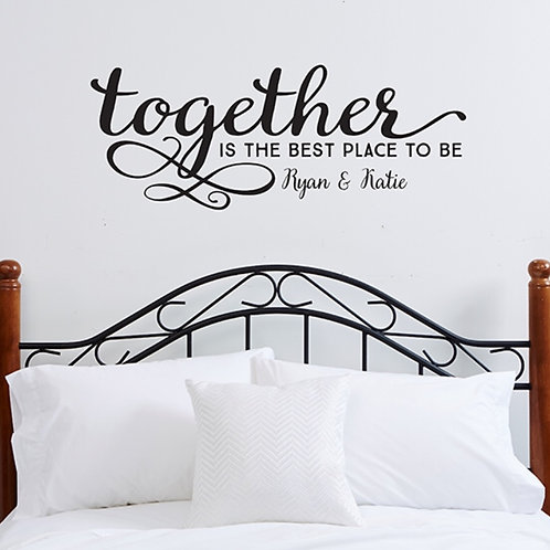 TOGETHER DECAL