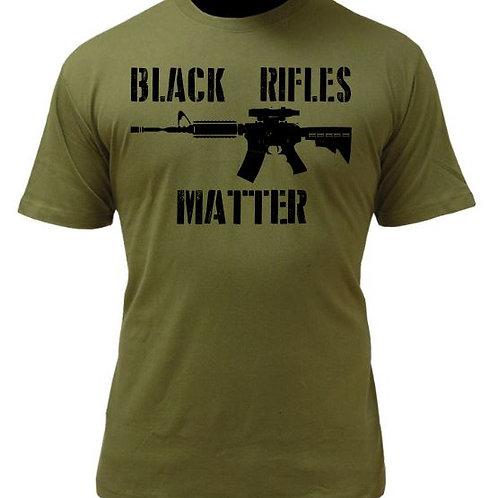 BLACK RIFLES MATTER T- SHIRT