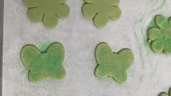 Behind the Scenes of Kevin's fresh baked Butterfly & Flower Shaped Cookies