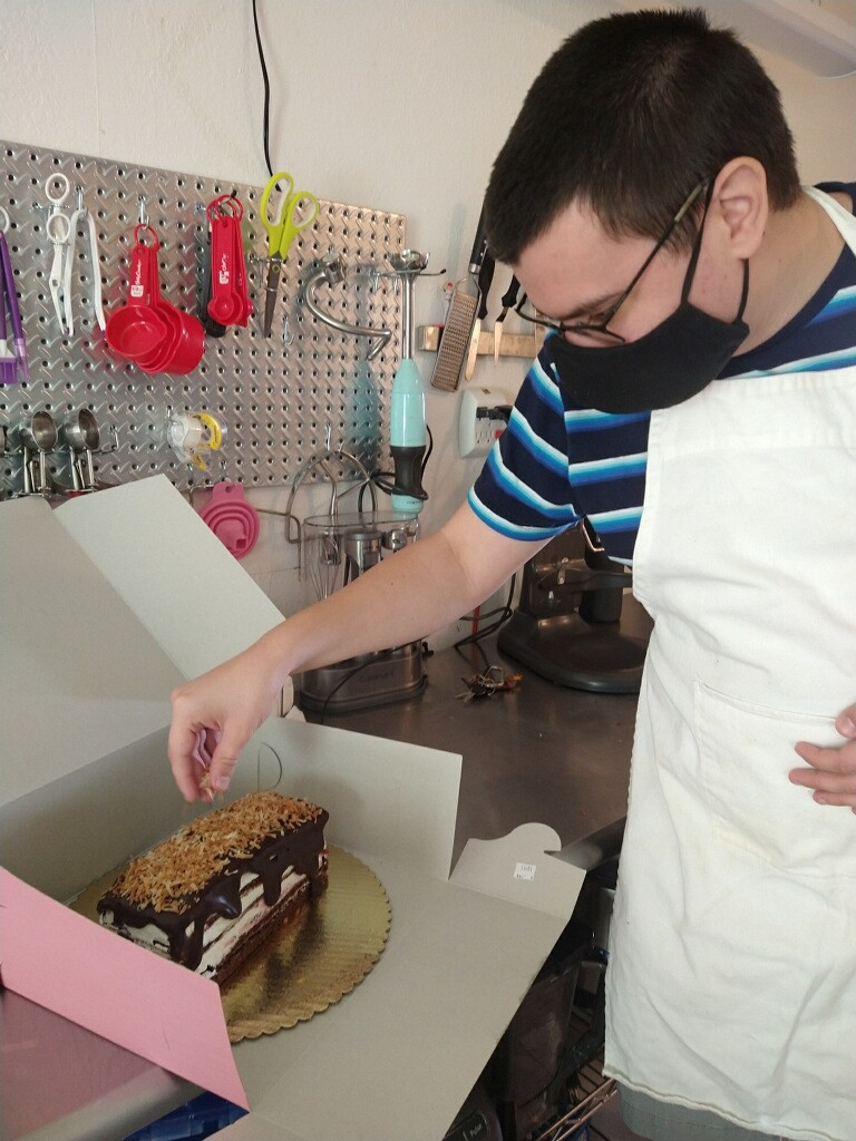 Kevin the Baker making a cake #2