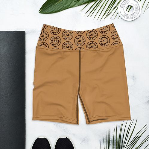 Metaphysical AF Melanin Shorts