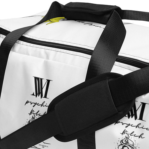 How did you know that? Psychic B*tch Duffle bag