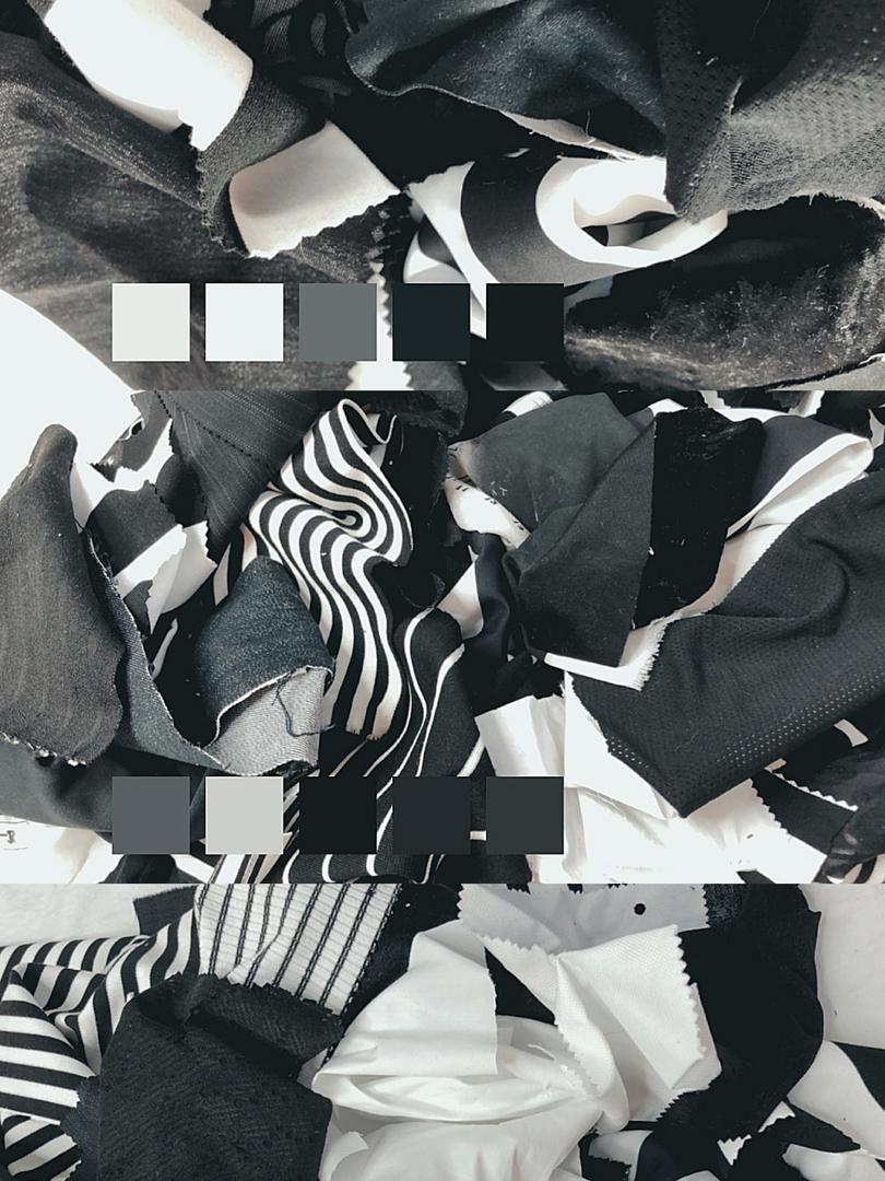 Black and White Scraps