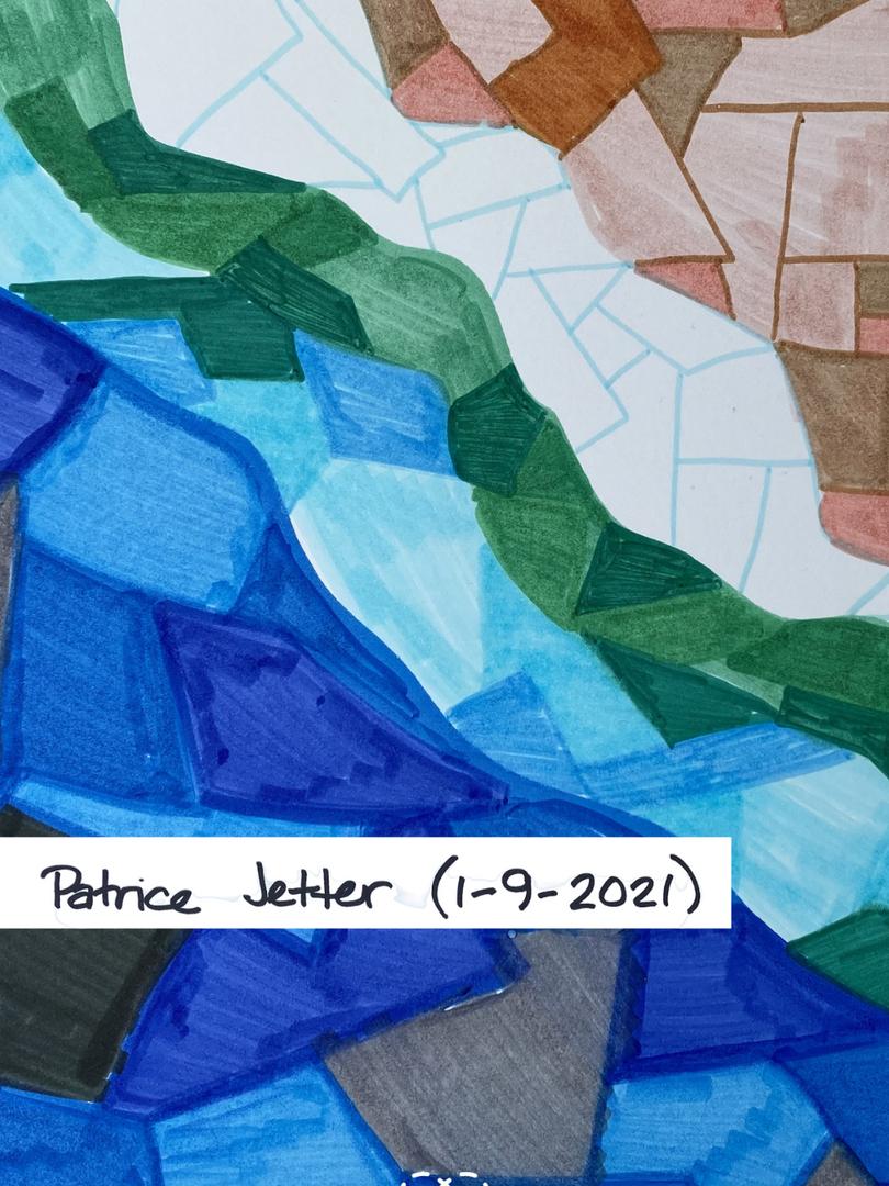 Patrice' s Beach Blanket Sketch