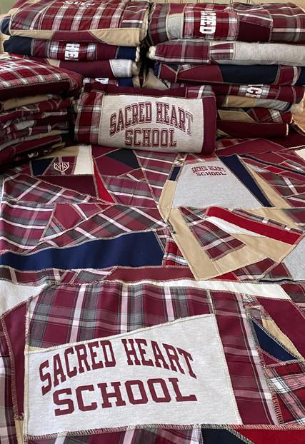 Sacred Heart Custom Blankets