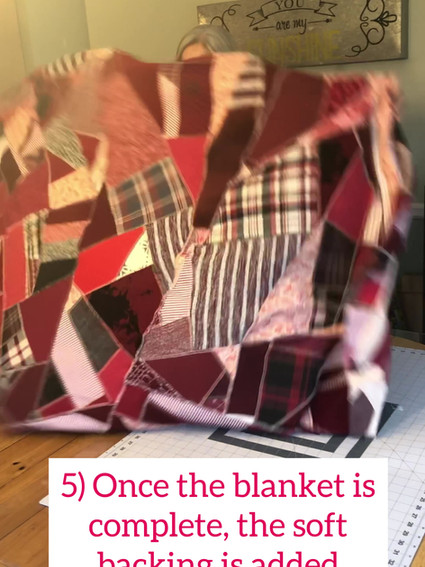 How We Make a Blanket During COVID-19