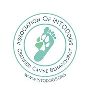 intodogs Certified Canine Behaviourist b