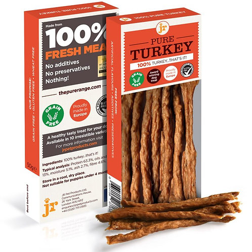 100% Meat Turkey Sticks