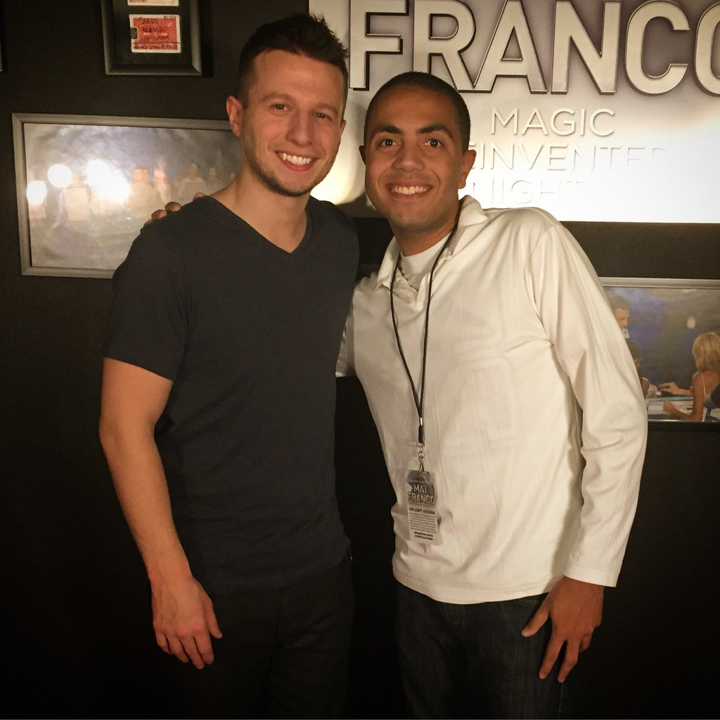 Alex and America's Got Talent Season 9 winner Mat Franco