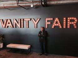 Alex with Vanity Fair