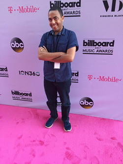 Alex at the 2017 Billboard Music Awards with Dick Clark Productions