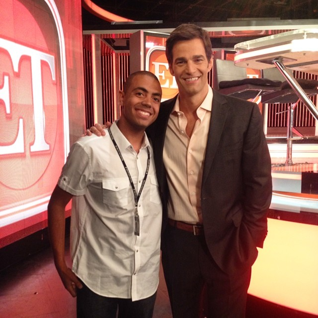Alex and GMA's Rob Marciano