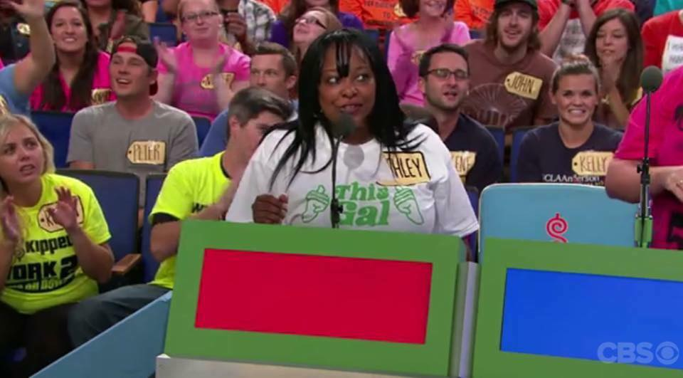 Ashley on CBS' The Price Is Right