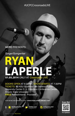 Ryan Laperle Event Poster