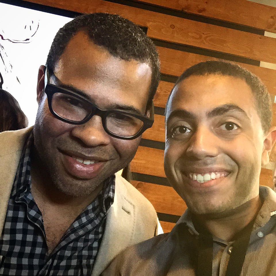 Alex and Jordan Peele