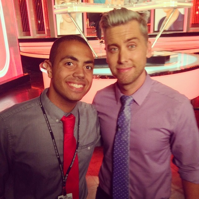 Alex and Lance Bass