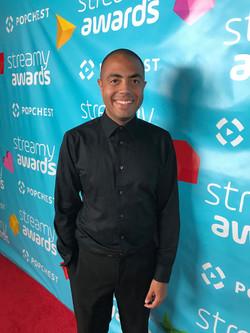 Alex at the 2017 Streamy Awards