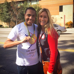 US Gold Olympian Courtney Mathewson