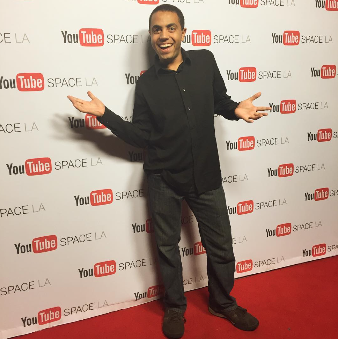 Alex at YouTube LA Party