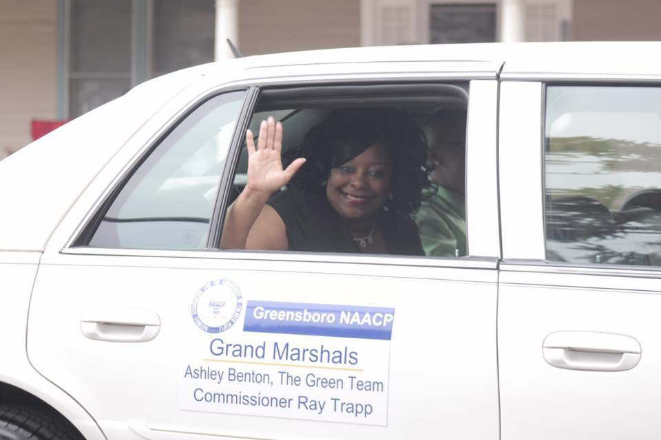 Ashley selected as Grand Marshall