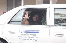 Ashley selected as Grand Marshall