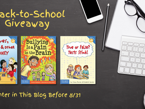 Back-to-School Book Giveaway Courtesy by The Trevor Romain Company