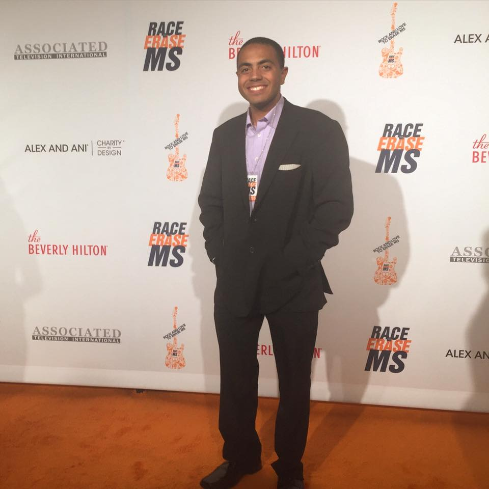 Alex at 2016 Race to Erase MS Gala
