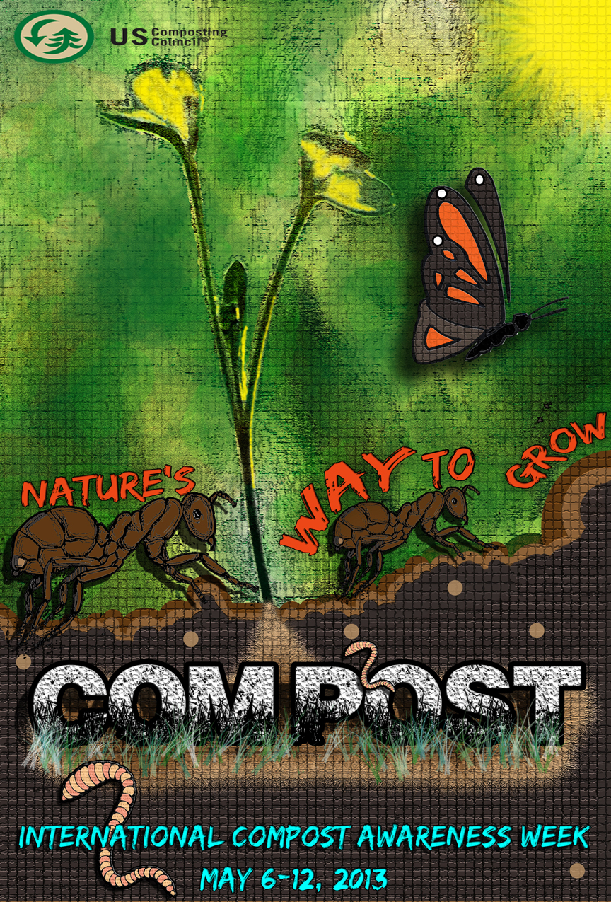 Nature's Way To Grow Compost Poster