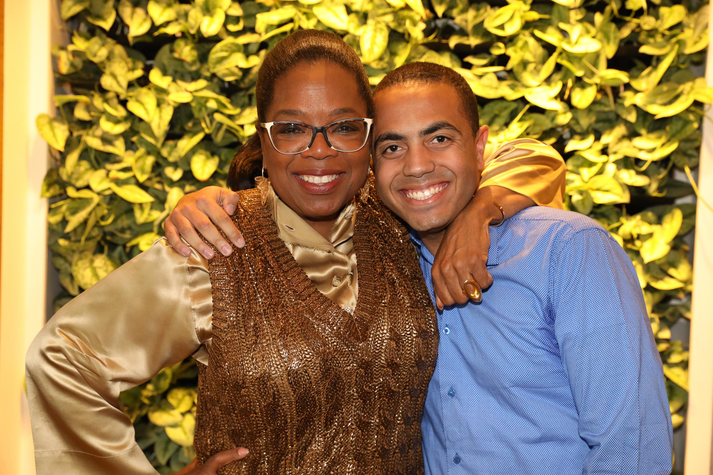 Alex & Oprah Winfrey