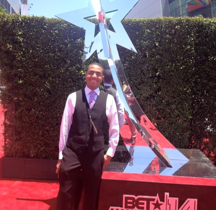 Alex at 2014 BET Awards