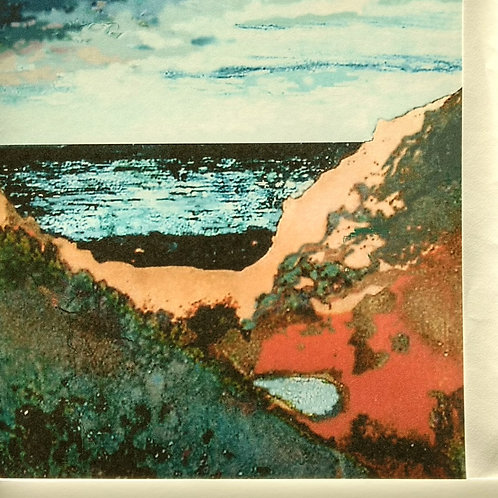Cornish seascape card