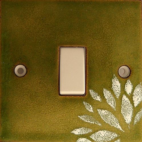 Flower Olive Green