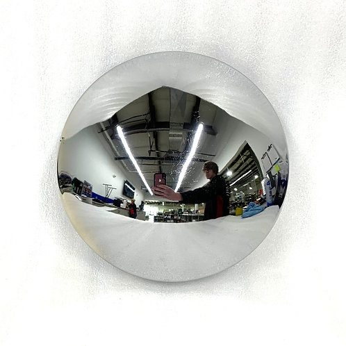 6-Notch Chrome Hub Cap