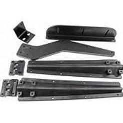 Black Half Fender Mounting Kit