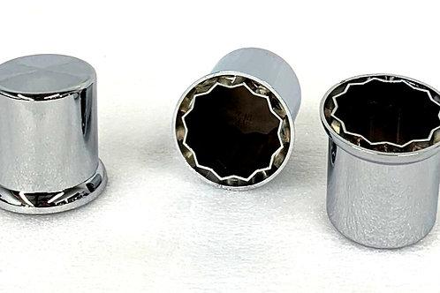 38mm Chrome Nut Cover