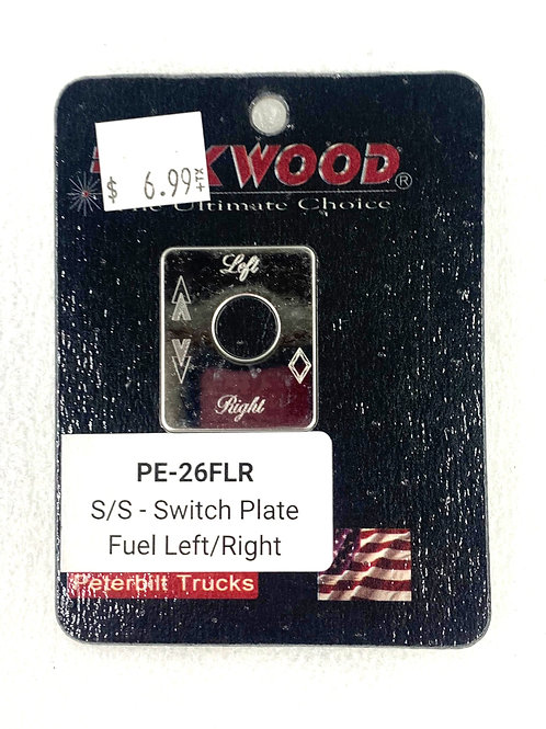 Fuel Left/Right Switch Plate