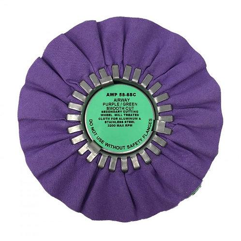 "8"" Secondary Cutting Wheel Purple/Green"