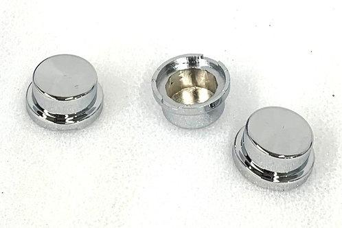 19mm Chrome Nut Cover