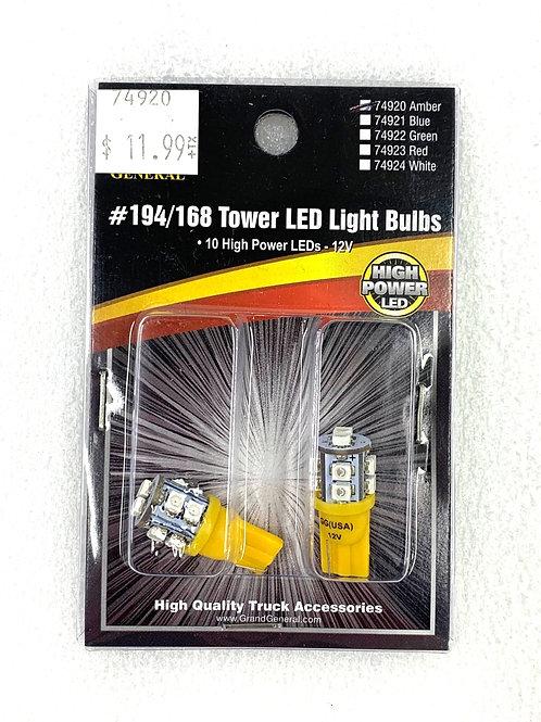 194/168 Tower Light Bulb Amber