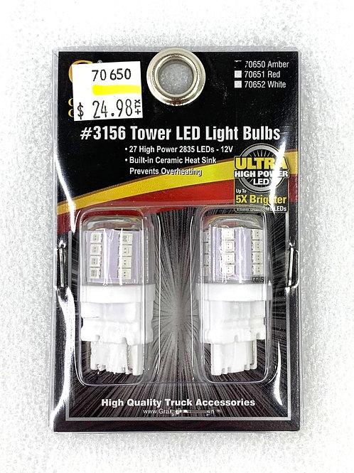 3156 Tower Light Bulb Amber