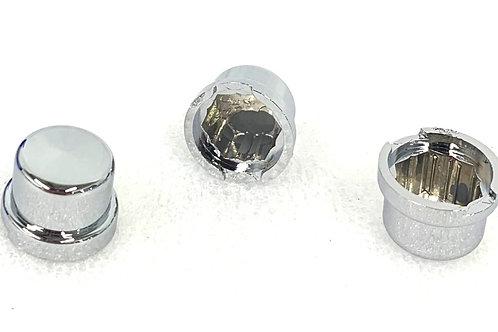 12mm Chrome Nut Cover