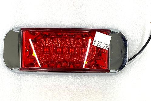 Rectangular Marker Light Red