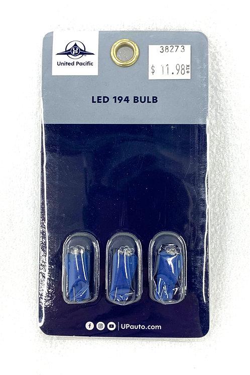 194 Wedge Light Bulb Blue